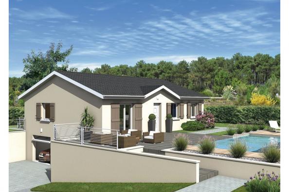 Maison MEZZO - Bellegarde-Poussieu (38270)