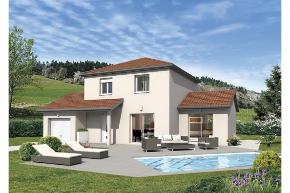 Plan de maison BALBOA - VERSION FRANCHE-COMTE