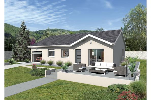 Plan de maison MACARENA - VERSION EST