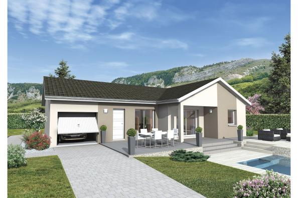 Plan de maison MALOYA - VERSION FRANCHE-COMTE