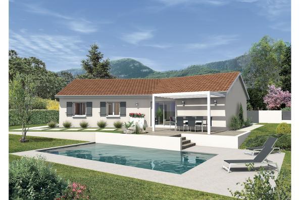 Plan de maison SAMBA - VERSION FRANCHE-COMTE
