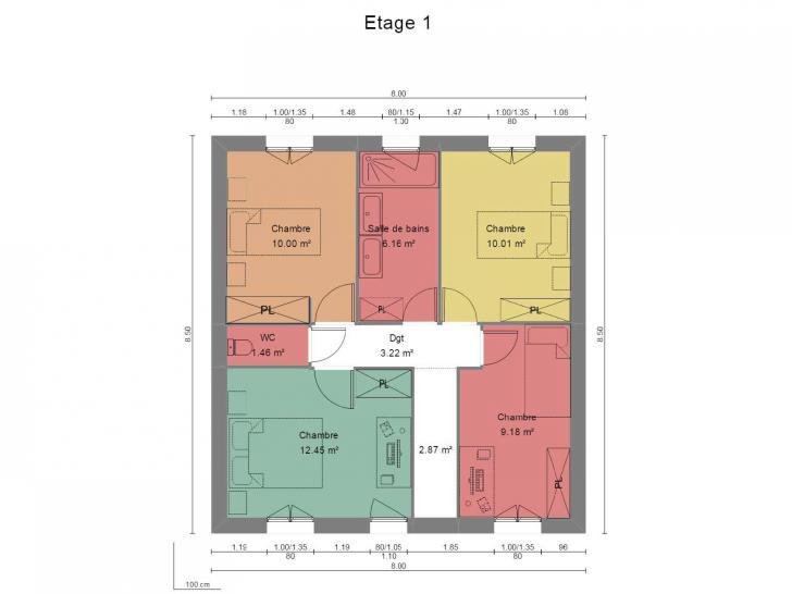 Plan de maison Modèle A : Vignette 2