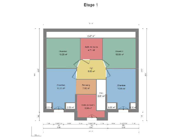Modèle de maison mm : Vignette 1