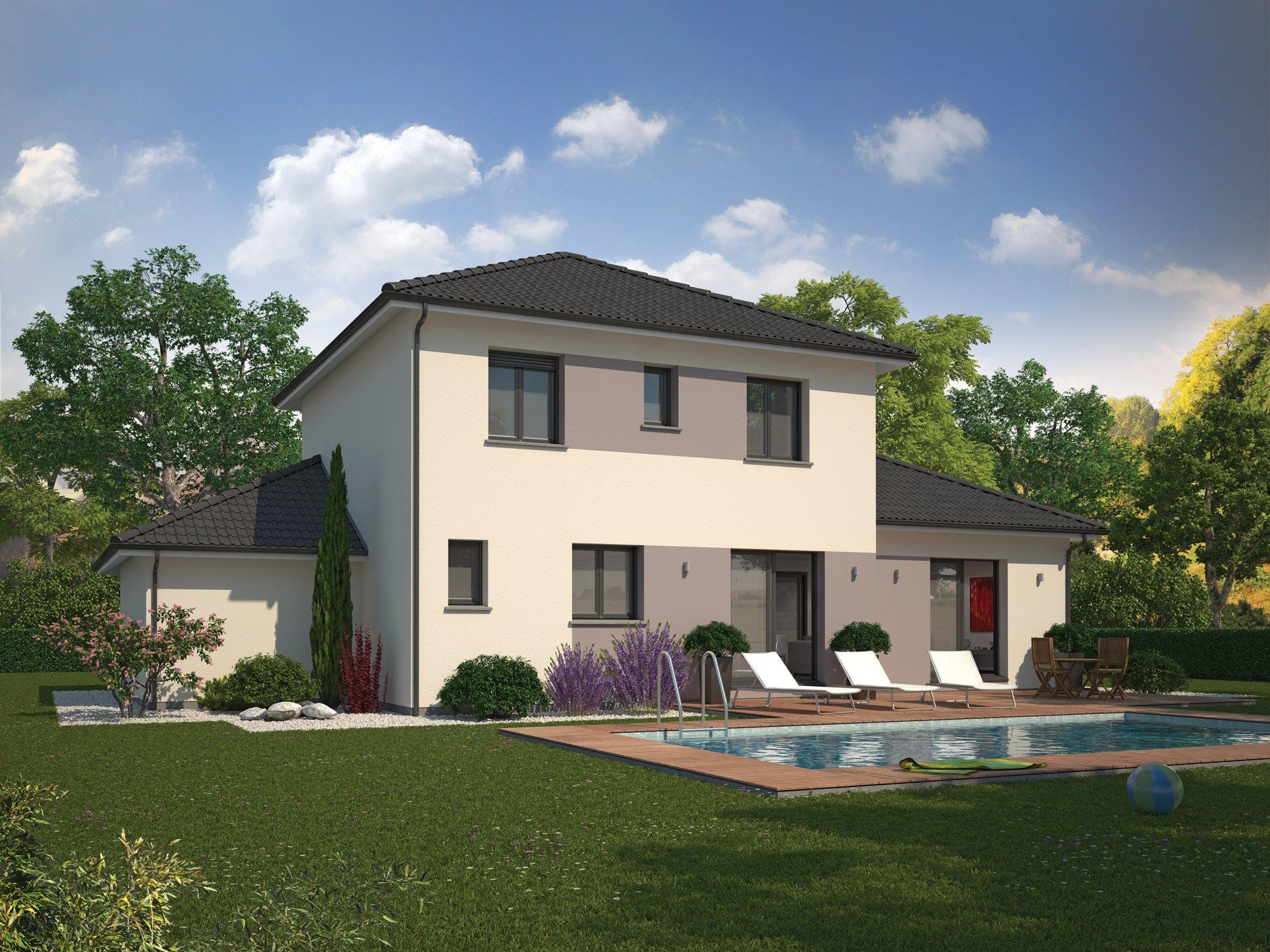 Maison familiale constructeur immobilier andr zieux for Une autre maison andrezieux