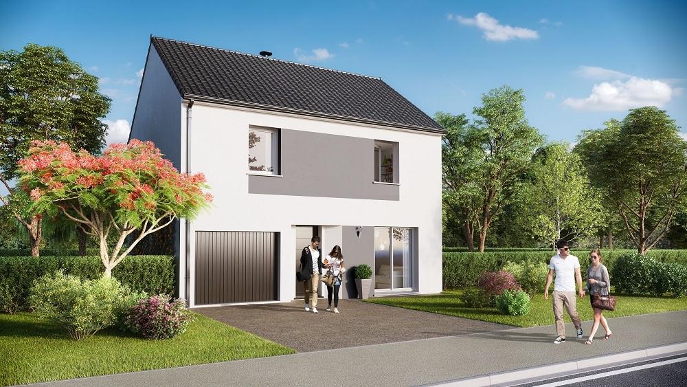 Votre maison + terrain à Cauffry  - 60290