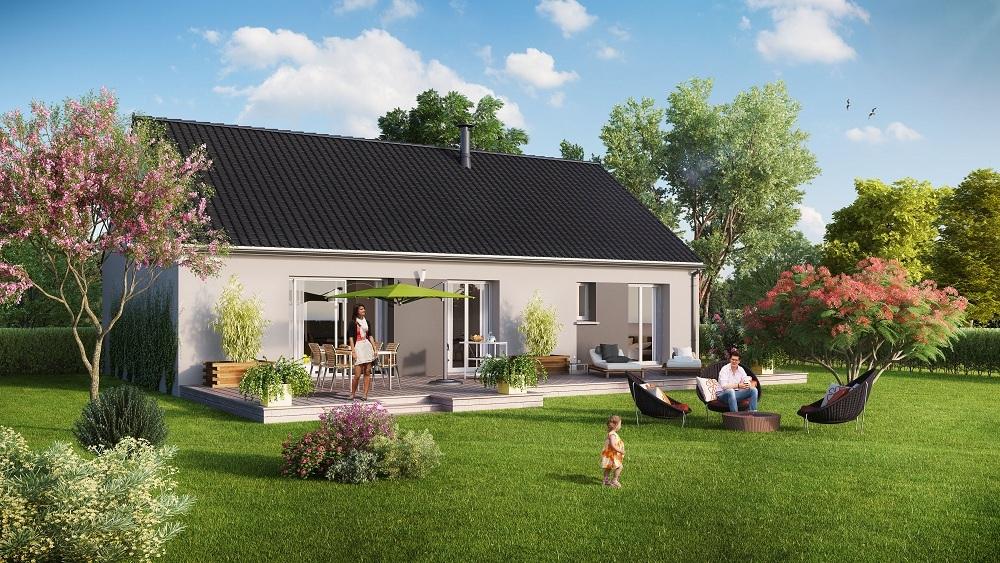 Votre maison + terrain à Milly-la-Forêt  - 91490