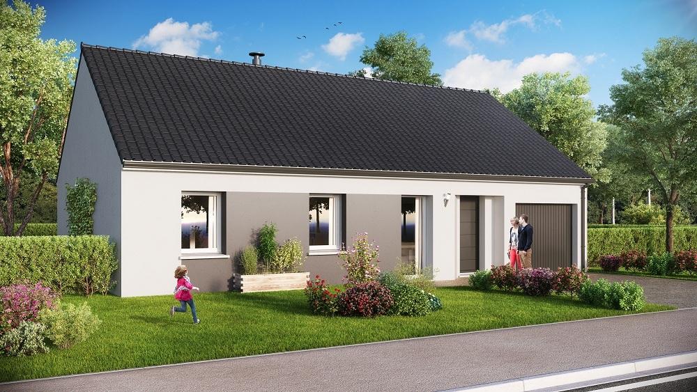 Votre maison + terrain à La Houssaye-en-Brie  - 77610