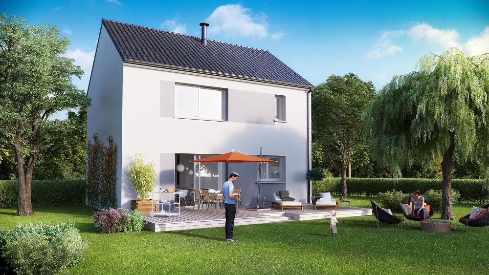 Votre maison + terrain à Moret-sur-Loing  - 77250