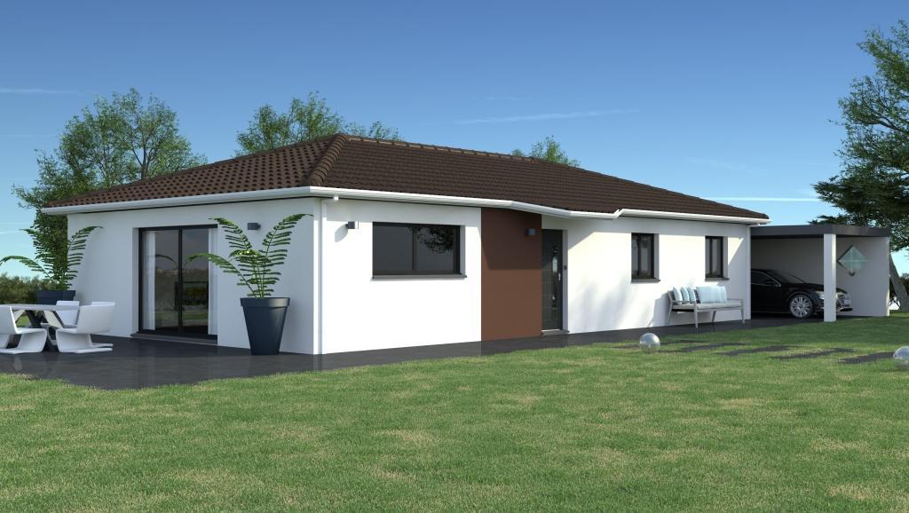 Maison geoxia marive tendance maison toit plat avec pasio for Geoxia ouest