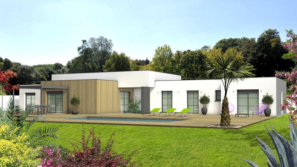 Maison à construire à Beynac(87700)  sur un terrain de 2230m²