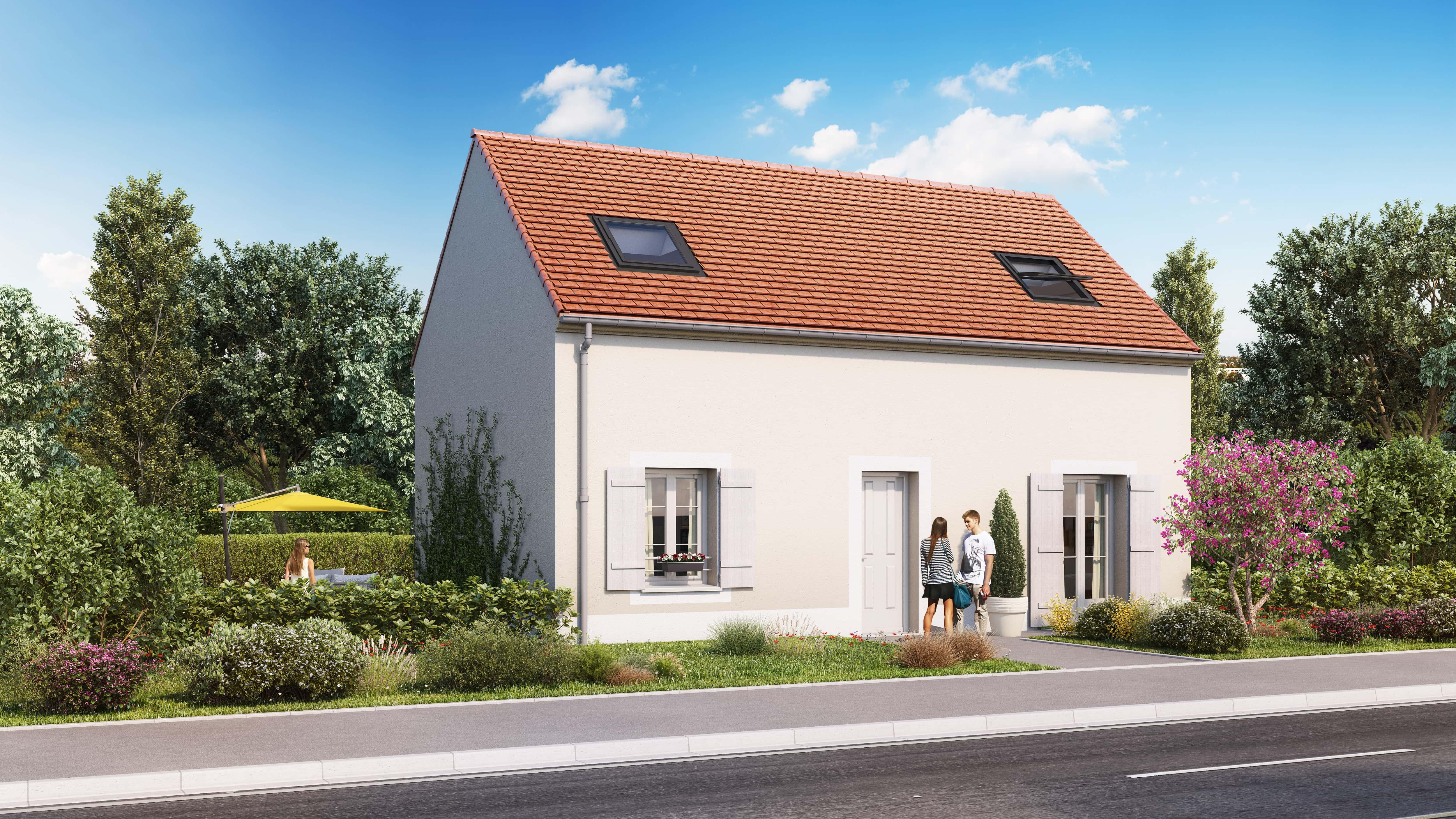 Votre maison + terrain à Nogent-le-Roi  - 28210