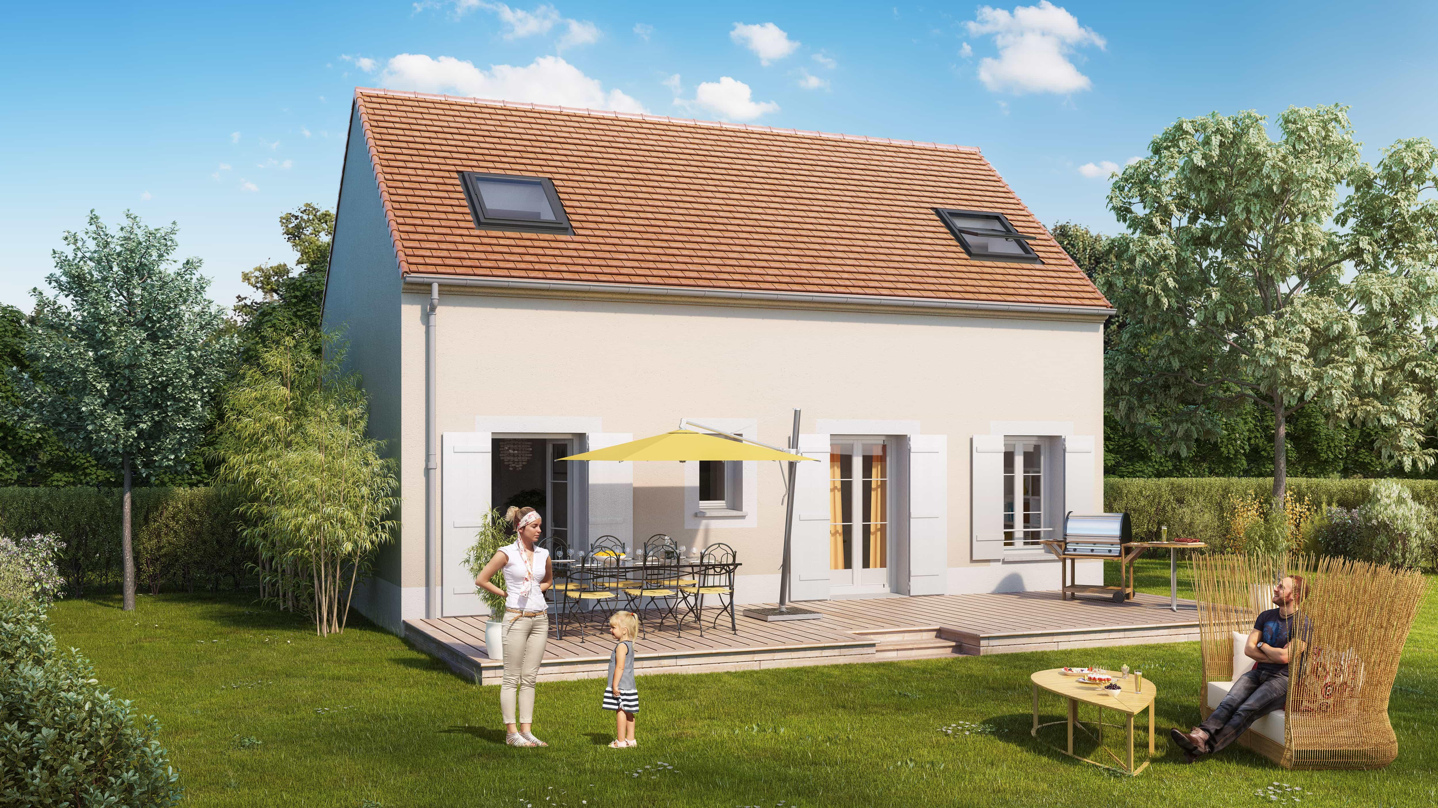 Votre maison + terrain à Le Mée-sur-Seine  - 77350