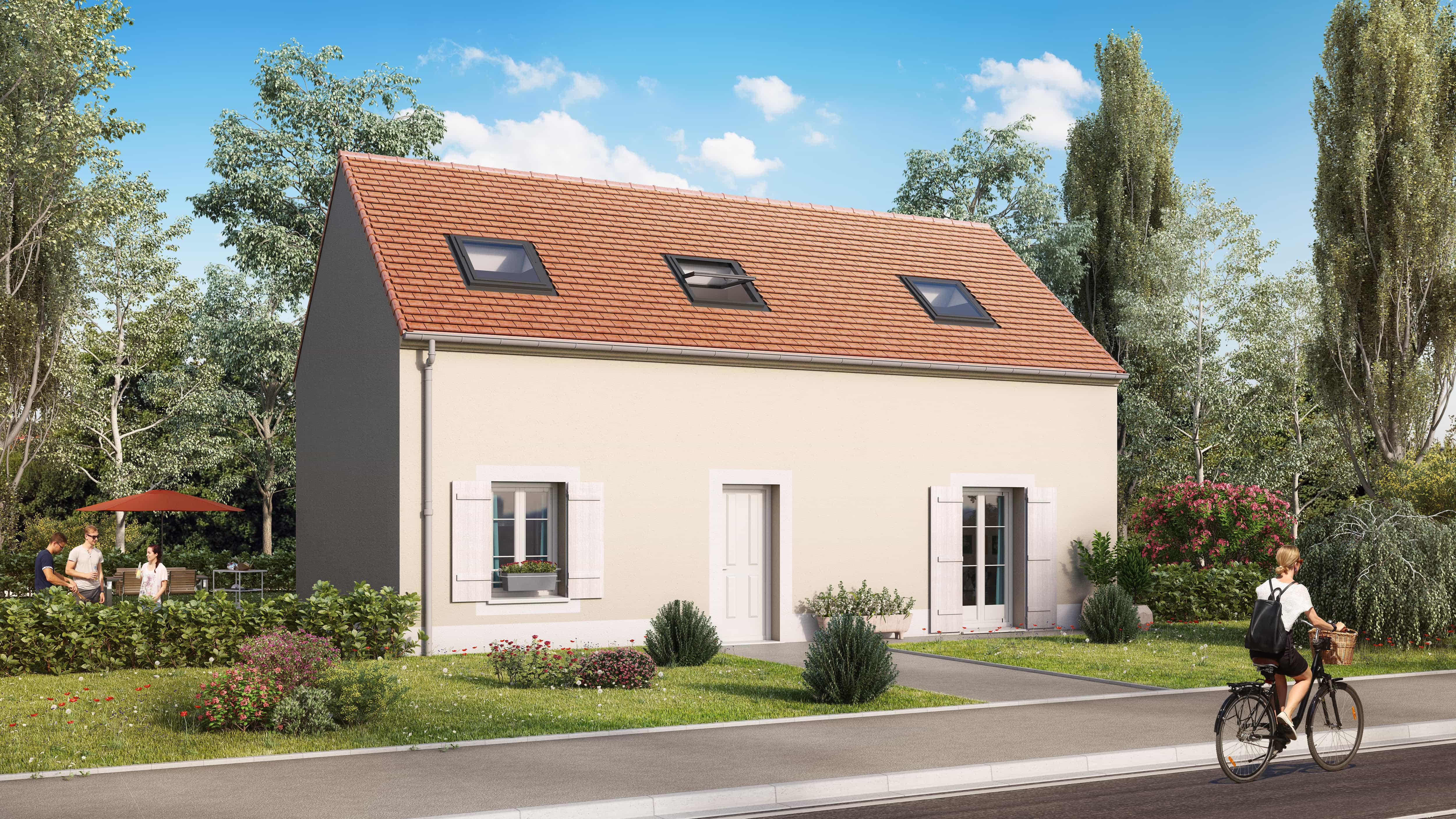 Votre maison + terrain à Marly-la-Ville  - 95670