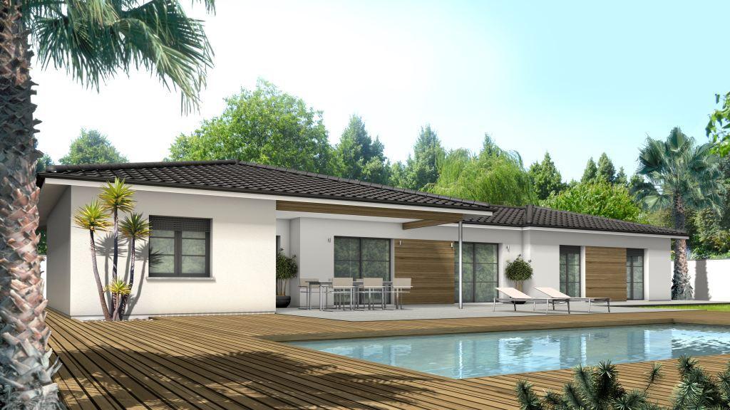 Maison à construire à Verneuil-sur-Vienne(87430)  sur un terrain de 1970m²