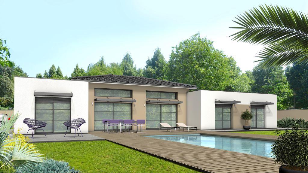 Maison à construire à Isle(87170)  sur un terrain de 1500m²