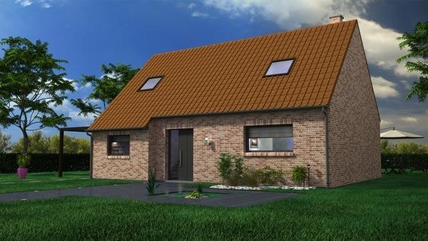 Votre maison + terrain à Beaumetz-lès-Loges  - 62123