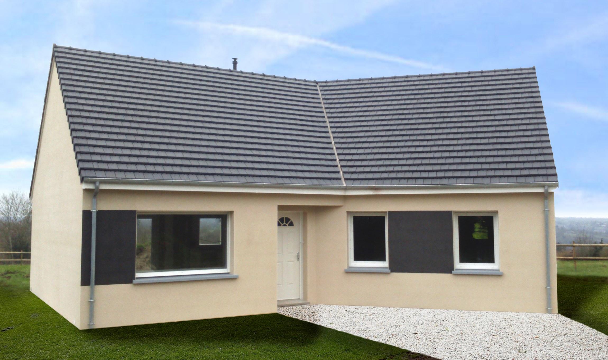 Votre maison + terrain à Toutainville  - 27500