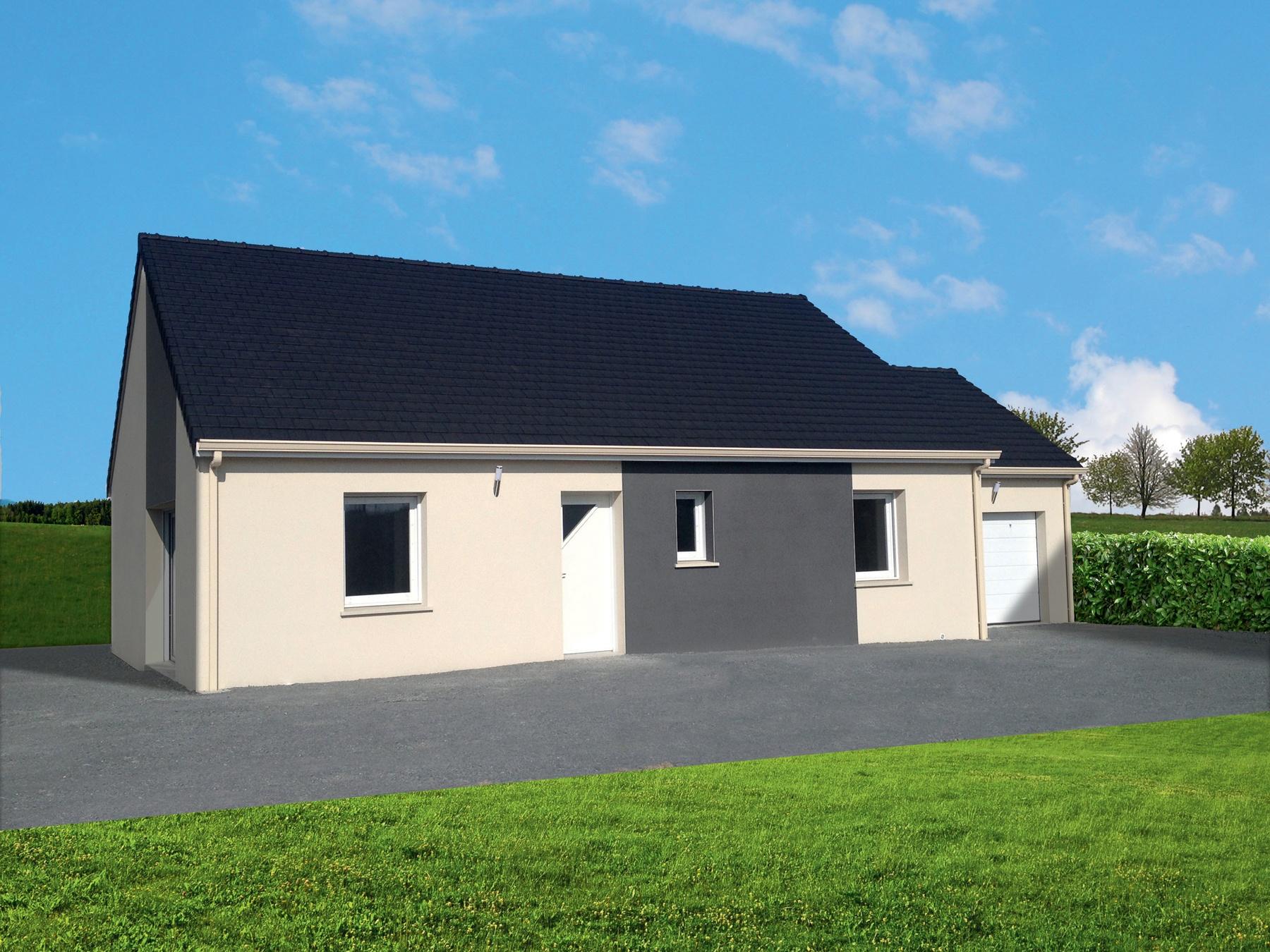 Votre maison + terrain à Hermanville-sur-Mer  - 14880