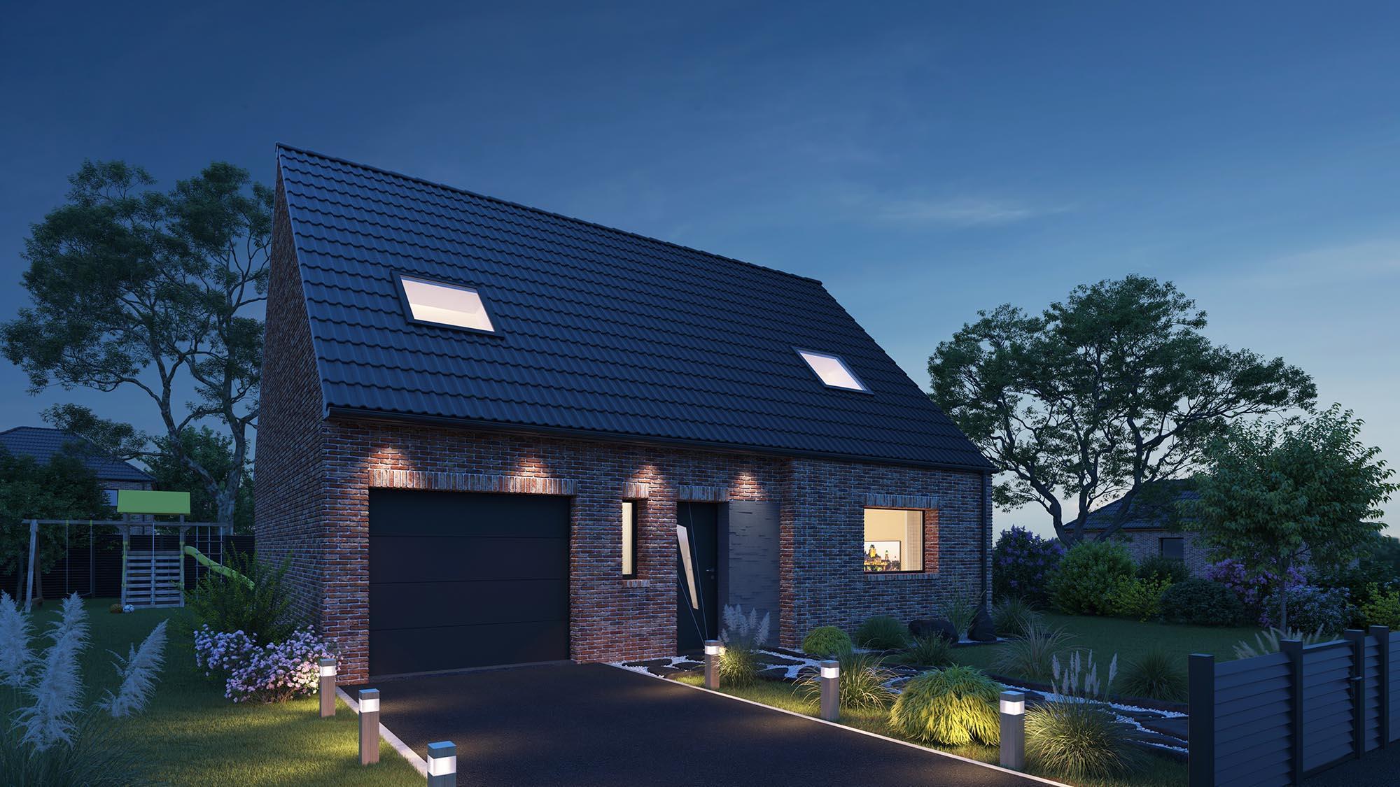 Votre maison + terrain à Lestrem  - 62136