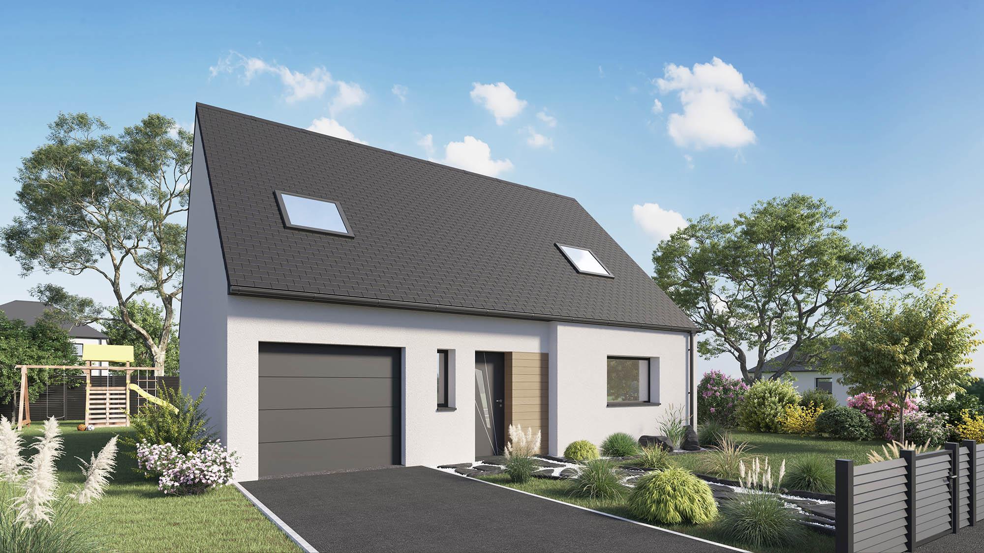 Votre maison + terrain à Tilloy-lès-Mofflaines  - 62217