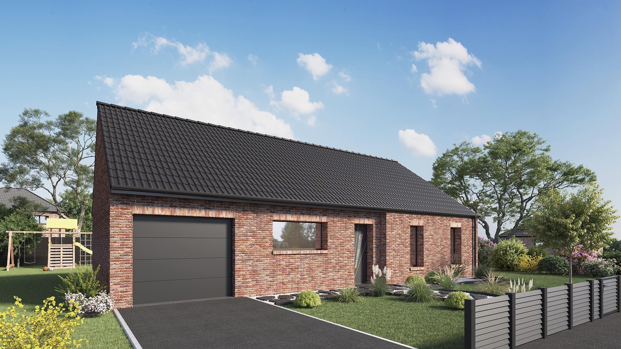 Votre maison + terrain à Boëseghem  - 59189