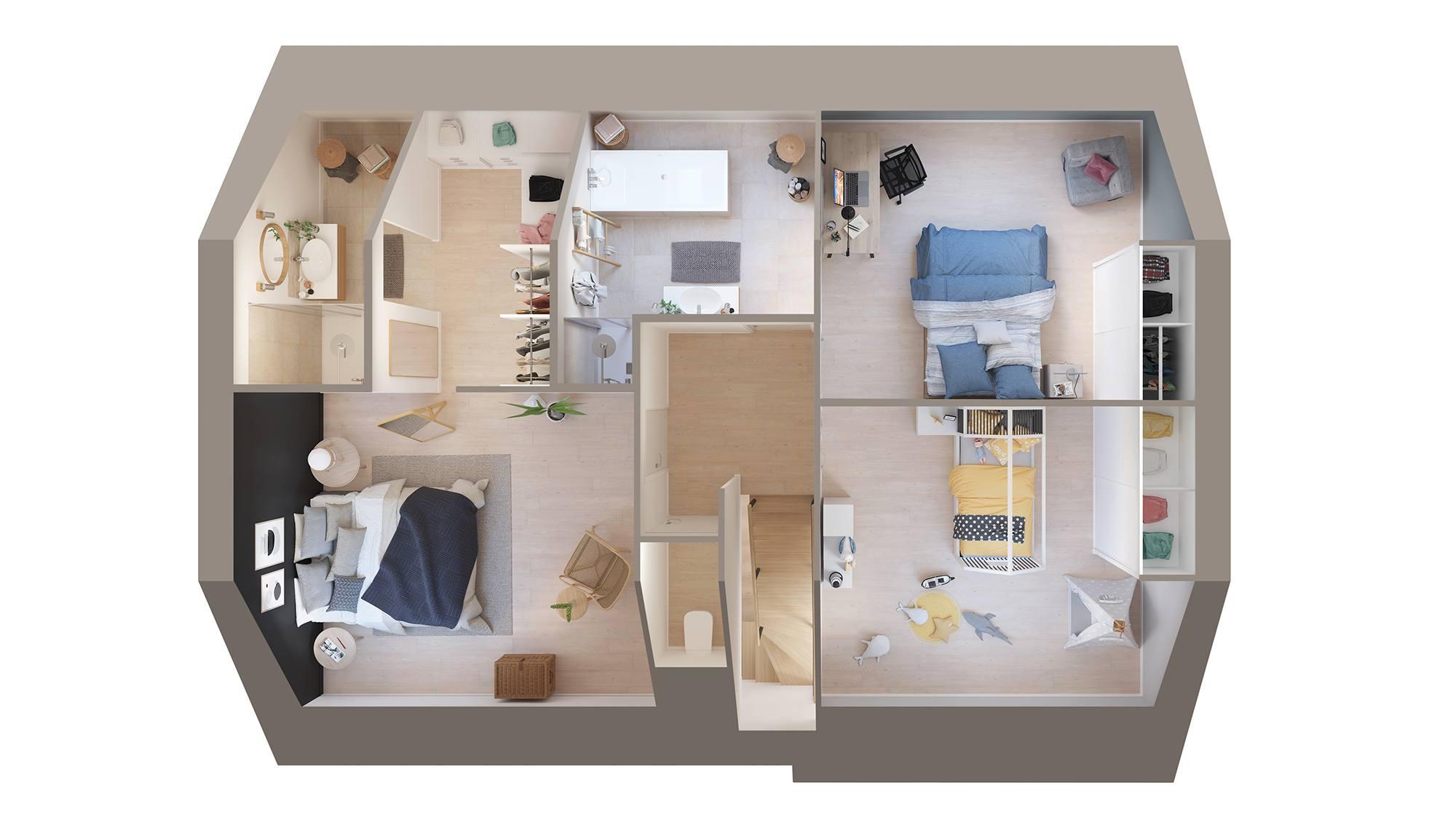 Votre maison + terrain à Lieurey  - 27560