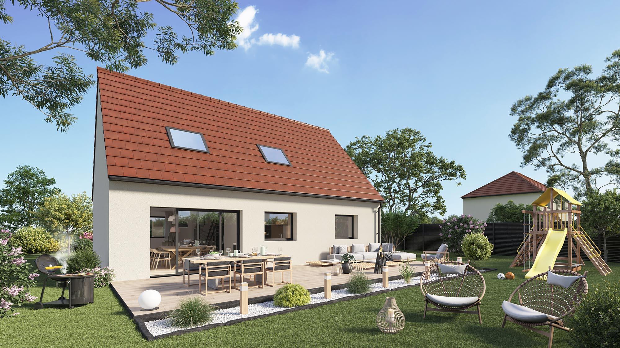 Votre maison + terrain à Grangues  - 14160