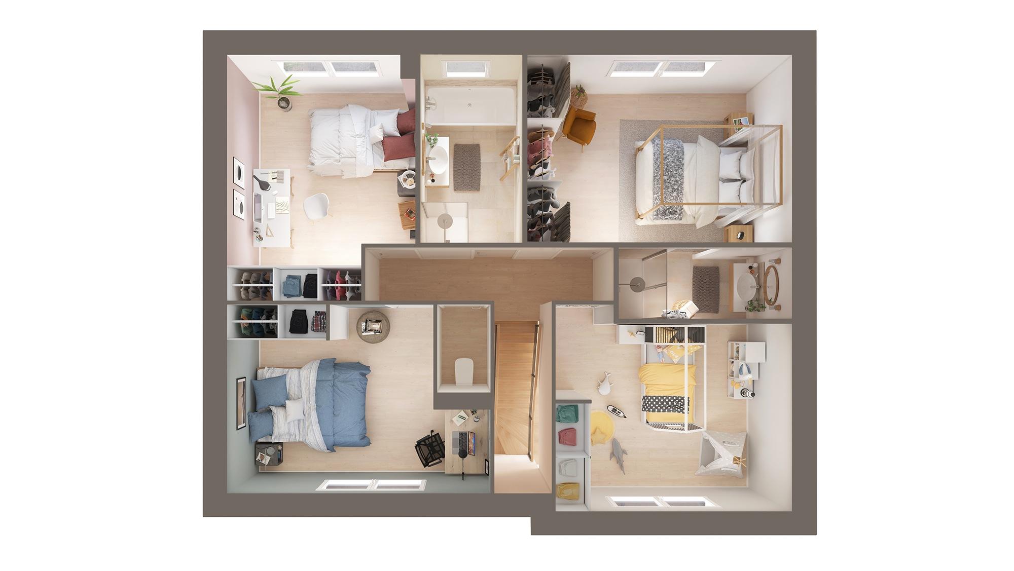 Votre maison + terrain à Billy-Berclau  - 62138