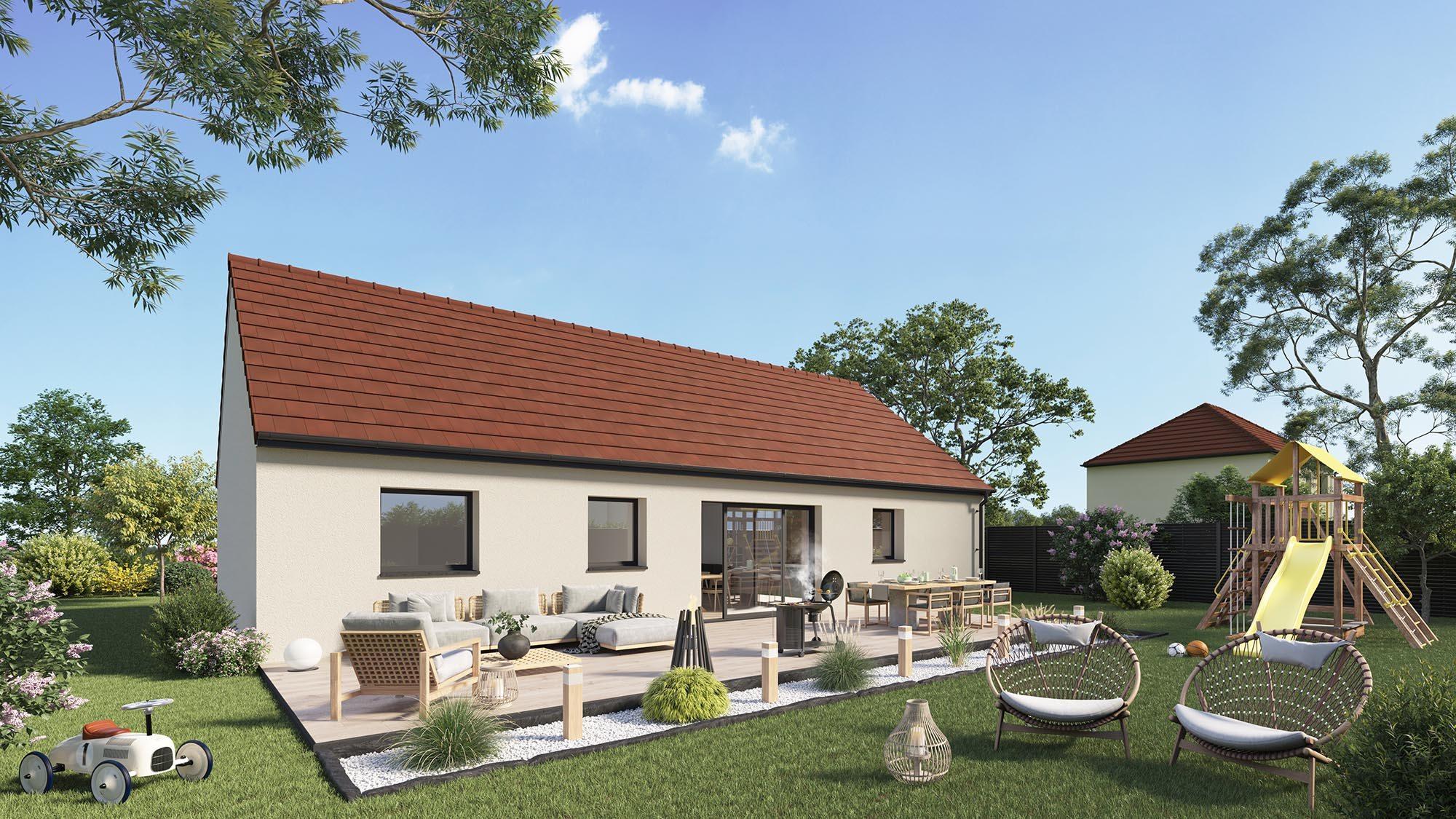 Votre maison + terrain à Villers-Bretonneux  - 80380
