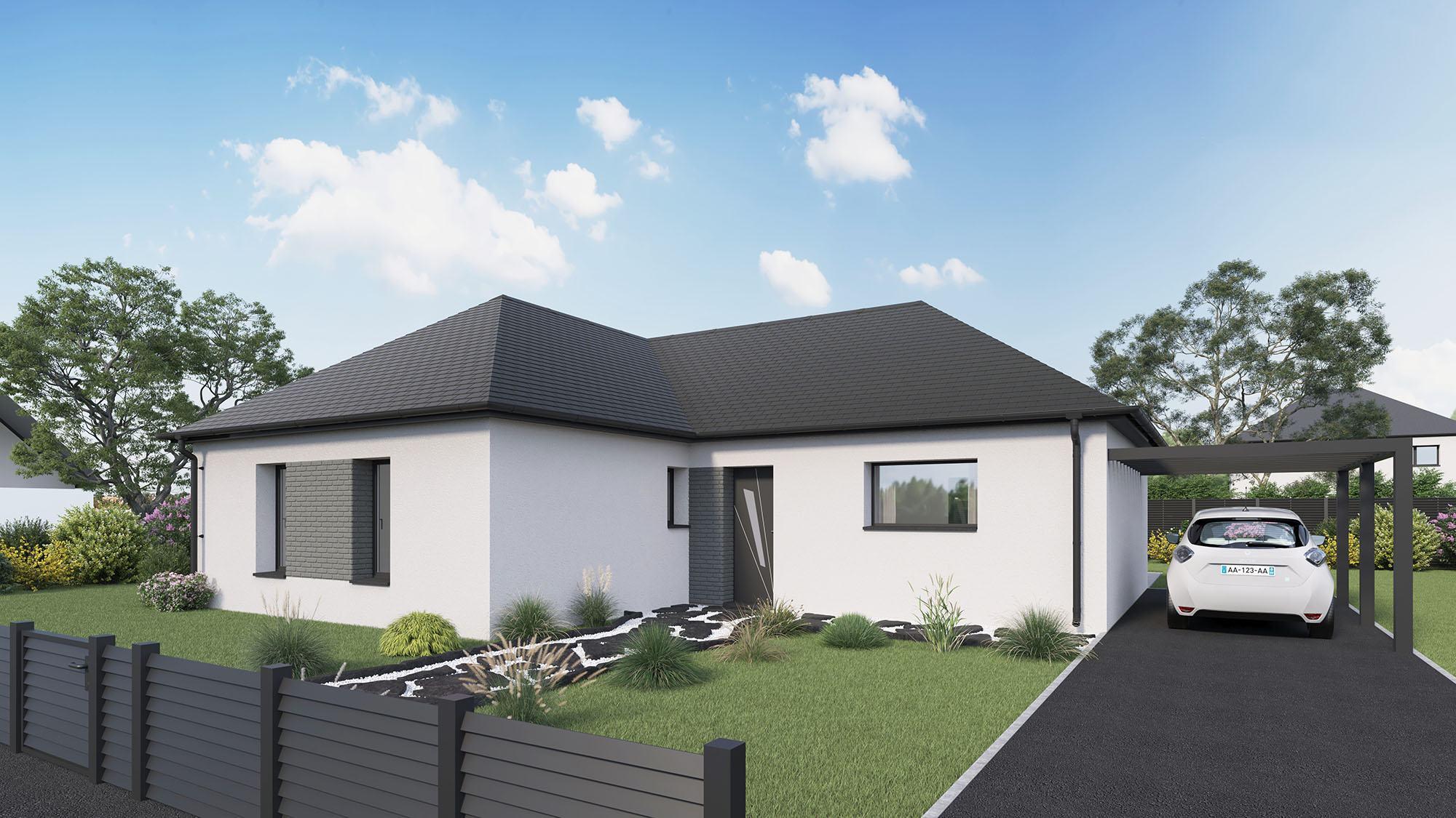 Votre maison + terrain à Bourgtheroulde-Infreville  - 27520