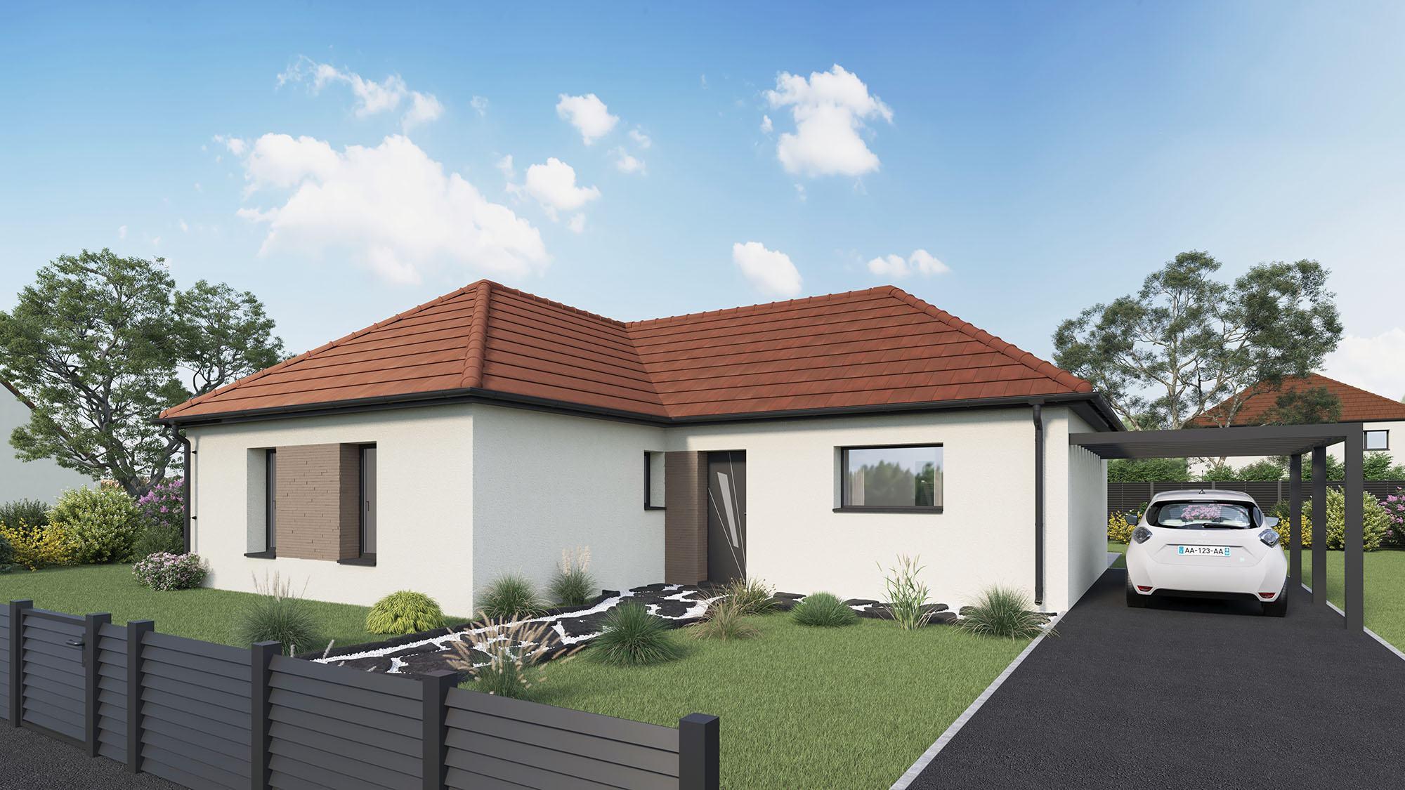Votre maison + terrain à Menneval  - 27300