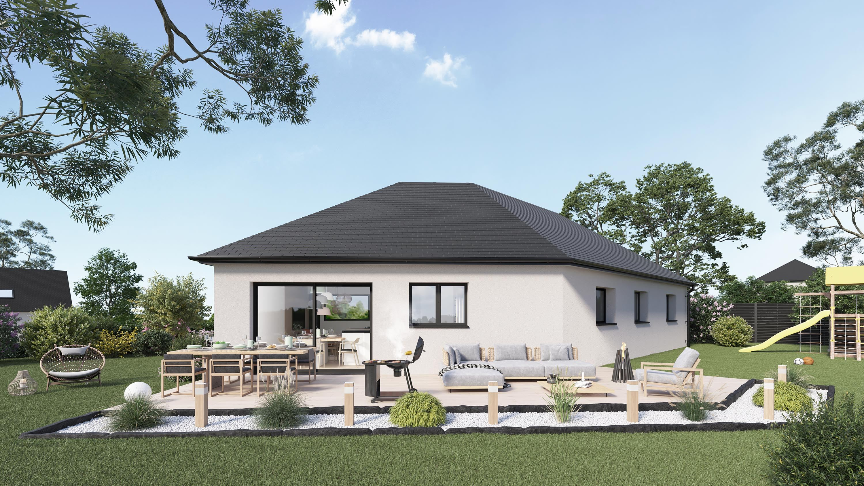 Votre maison + terrain à Goustranville  - 14430