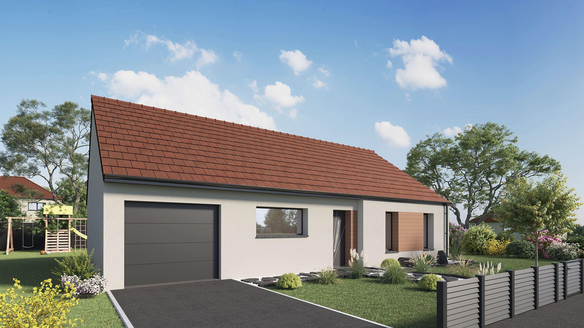 Votre maison + terrain à Doullens  - 80600