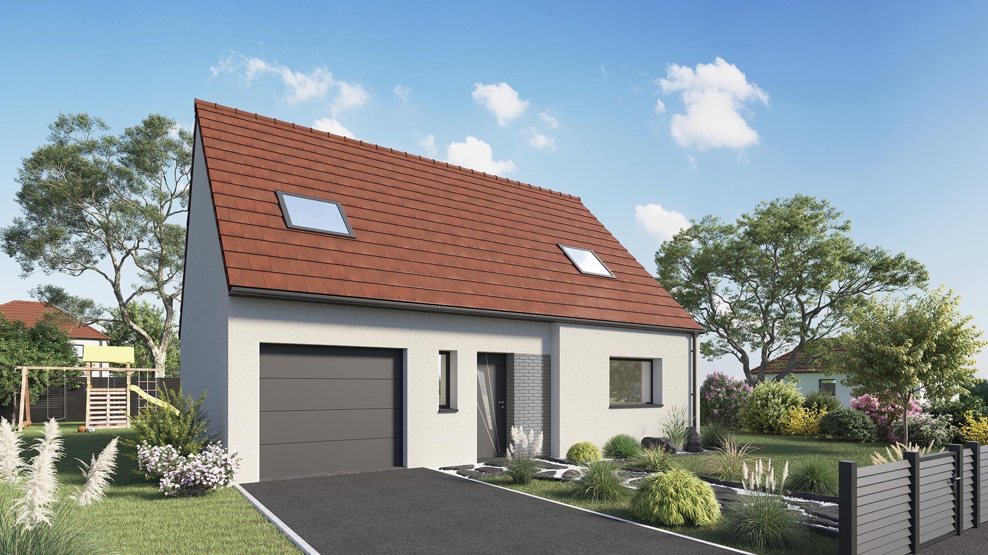Votre maison + terrain à Ailly-sur-Noye (80)