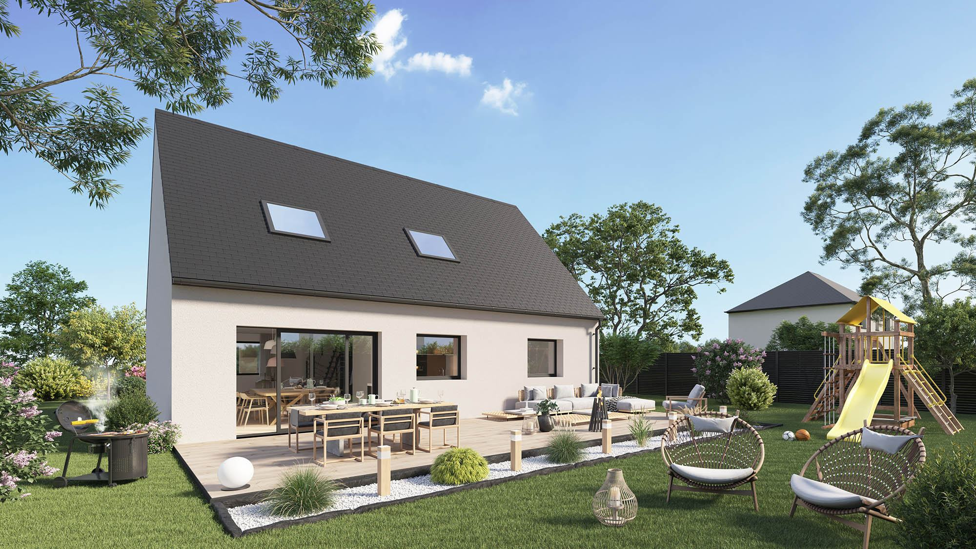 Votre maison + terrain à Rouen  - 76000