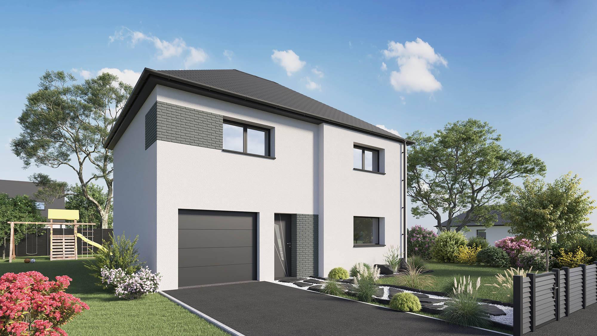 Votre maison + terrain à Val-de-Reuil  - 27100