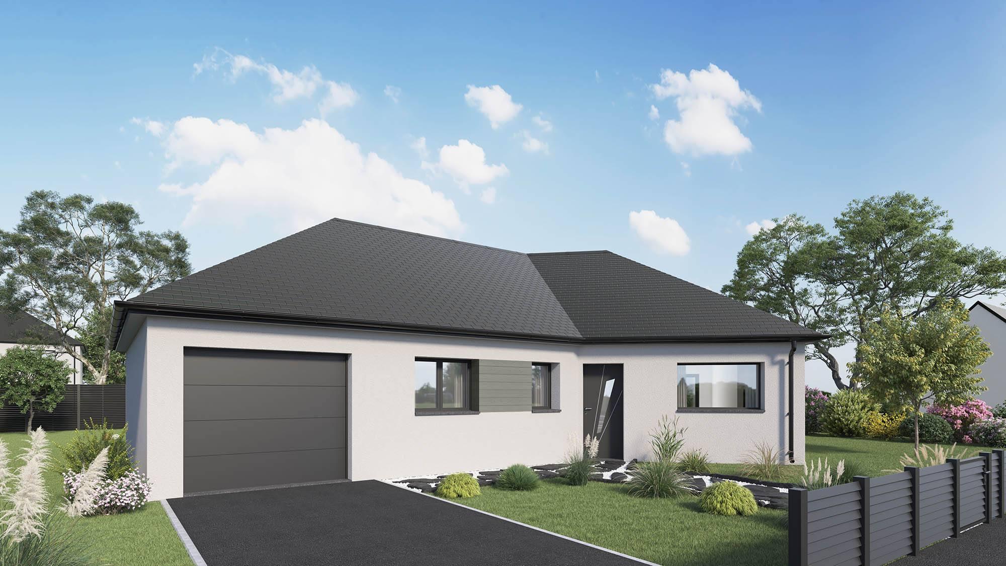 Votre maison + terrain à Saint-Georges-d'Aunay  - 14260