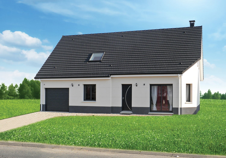 Votre maison + terrain à Saint-Manvieu-Norrey (14)