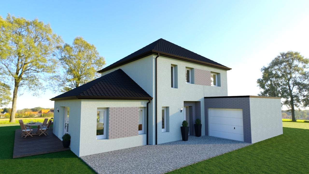 Votre maison + terrain à Féchain  - 59247