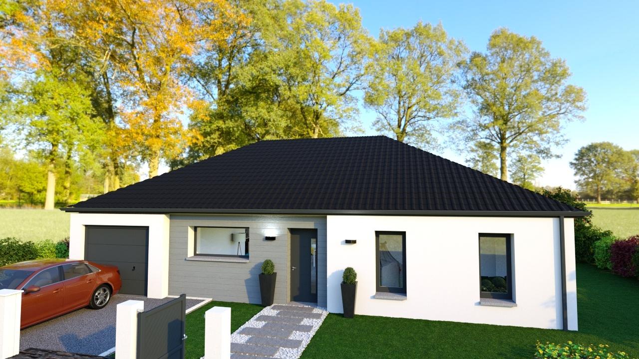 Votre maison + terrain à Gœulzin  - 59169