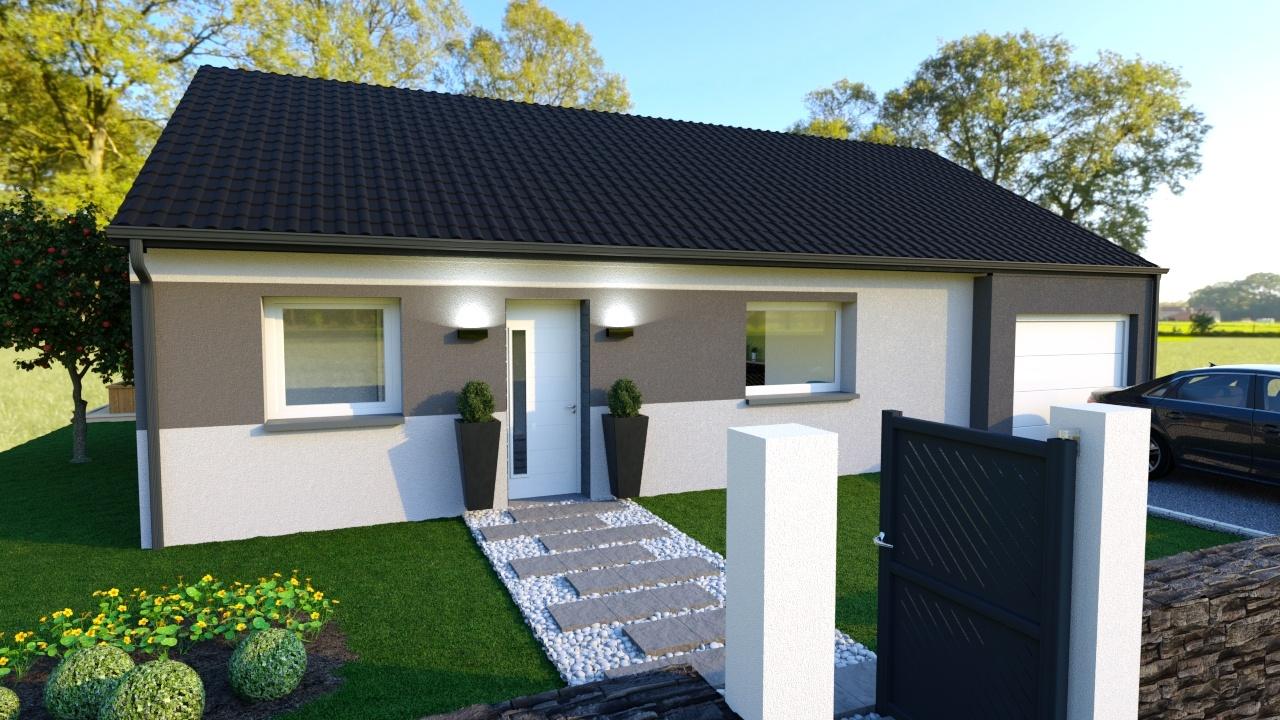 Votre maison + terrain à Montigny-en-Gohelle  - 62640