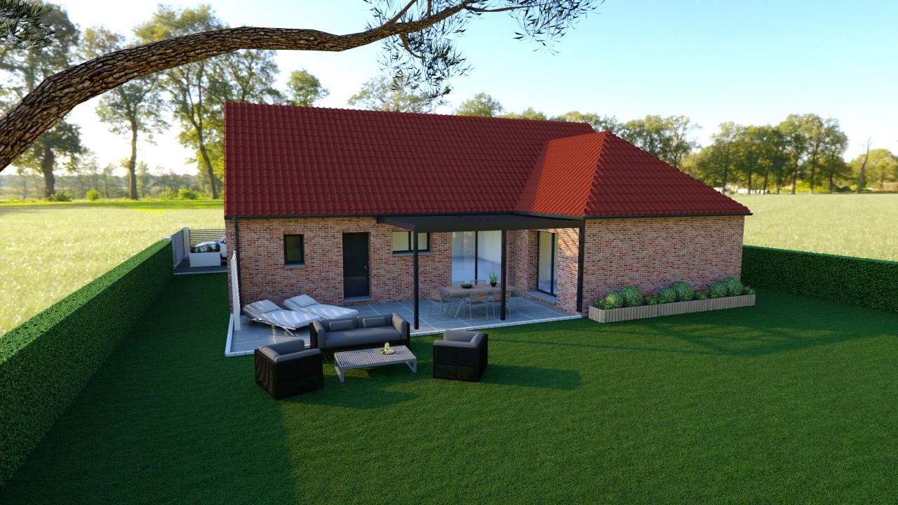 Votre maison + terrain à Noyelles-sur-Escaut  - 59159