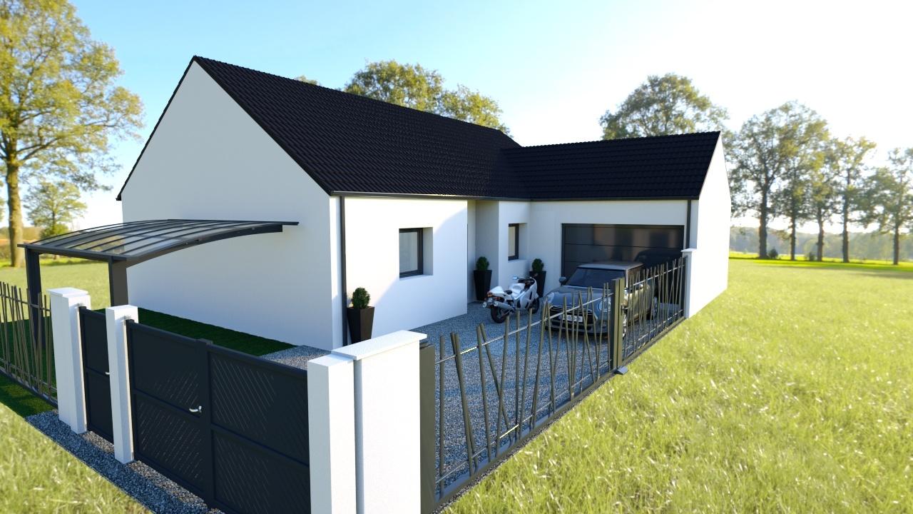 Votre maison + terrain à Vaudricourt  - 62131