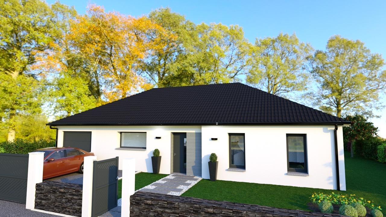 Votre maison + terrain à Givenchy-en-Gohelle  - 62580