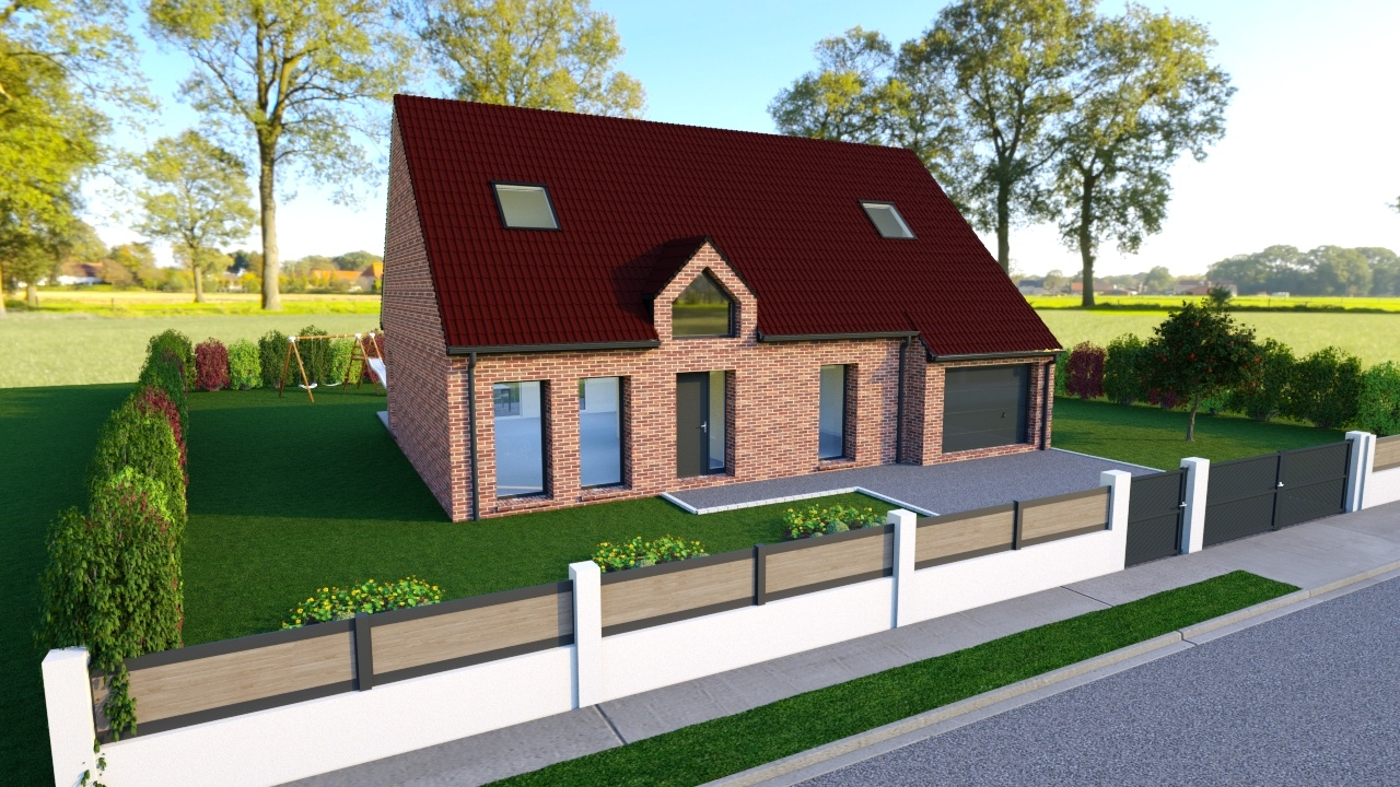 Votre maison + terrain à Béthune  - 62400
