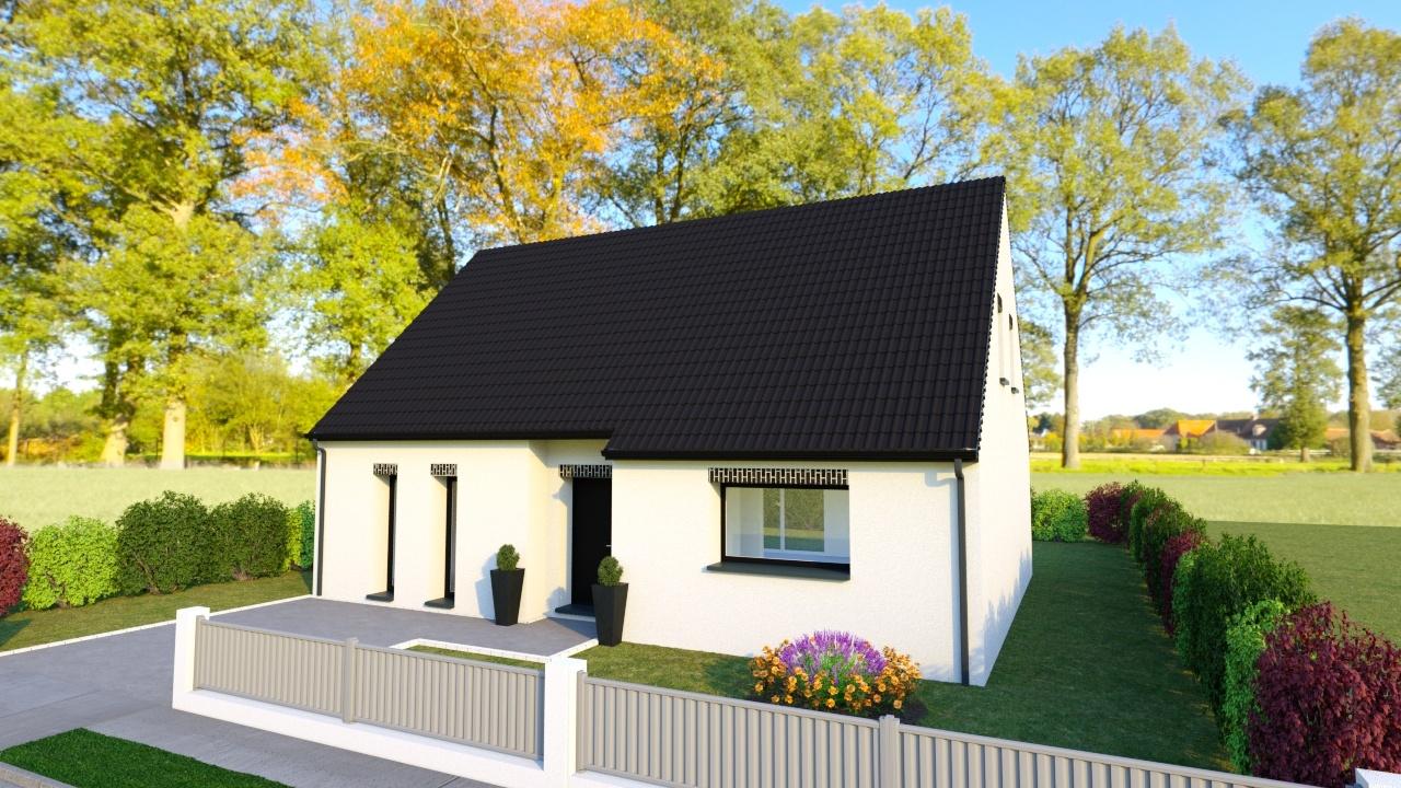 Votre maison + terrain à Oppy  - 62580