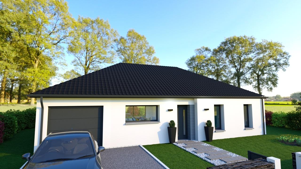 Votre maison + terrain à Brebières  - 62117