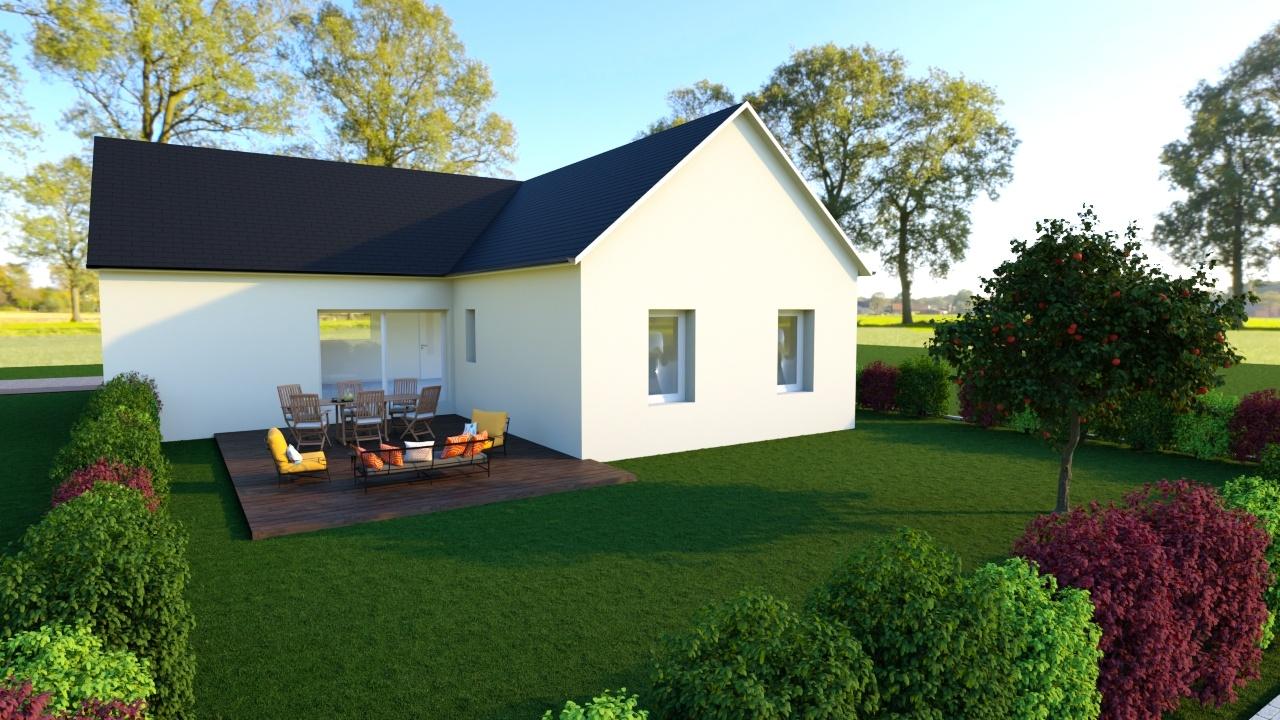 Votre maison + terrain à Courseulles-sur-Mer  - 14470
