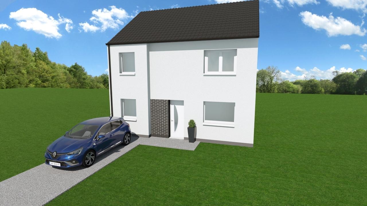 Votre maison + terrain à Anzin  - 59410