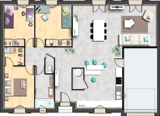Votre maison + terrain à Fismes  - 51170